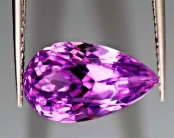 VVS, 5.40ct,Ovel shape Pink color Kunzite from Afghanistan.