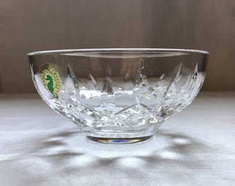 Small Signed Waterford Crystal Sugar Bowl