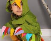 Paradiesvogel, Papagei, Papageno, Kakadu, Halloween