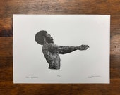 This Is America - Letterpress Print from an Original Engraving  - Childish Gambino Inspired Print