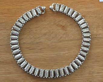 Victorian Silver Collar Necklace