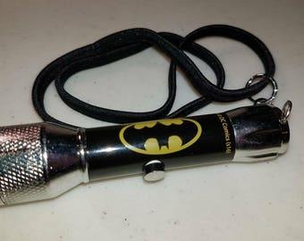 Batman flashlight bookmark