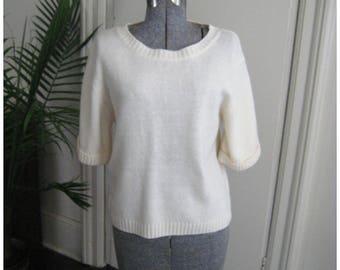 Vintage 1990's Wool Knit Sweater