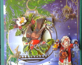 Christmas card, image tbz 3d Christmas scene 1