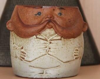 Vintage GEMPO Ceramic  Grandpa mug