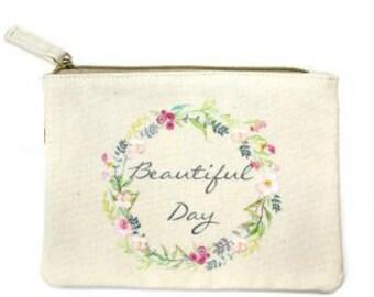 Beautiful Day Cosmetic Bag