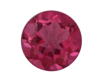 Mystic Pure Pink Topaz Round Cut Loose Gemstone 1A Quality 8mm TGW 1.80 cts.
