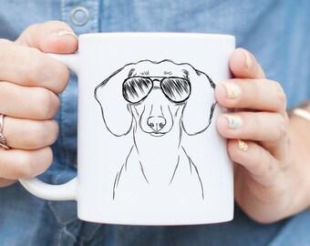 Hans the Dachshund Dog Mug