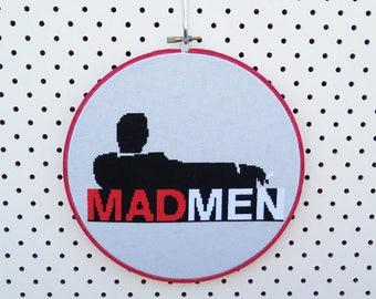 Mad Men Cross Stitch
