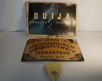 1930's Ouija Board complete -- haunted af
