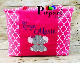 Pink elephant bag
