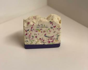 Flower Market Soap / Artisan Soap / Handmade Soap / Soap / Cold Process Soap