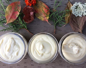 Juniper Breeze All Natural Lotion - Beeswax Lotion - Body Lotion Jar - Homemade Lotion - Body Butter