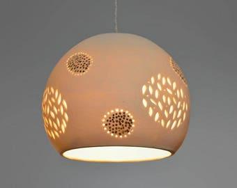 Pendant light. Ceiling light. Hanging pendant light. ceramic hanging lamp. lighting. Made to order