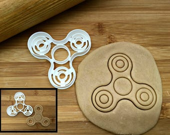 Fidget Spinner Cookie Cutter/Multi-Size/With Cut Outs