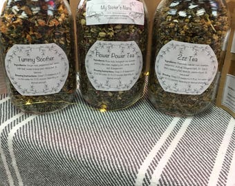 ZzzTea--Sleepy Herbal Tea Blend