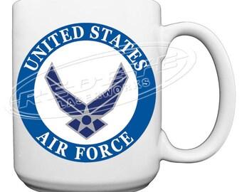 US Air Force Large 15 oz. Coffee Mug