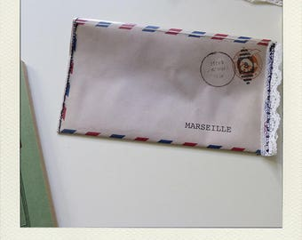 "Original cover envelope ""airmail"""