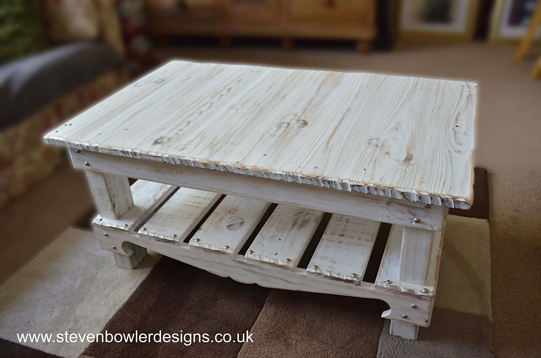 FREE UK SHIPPING Bespoke Nautical Reclaimed Wood Coffee Table