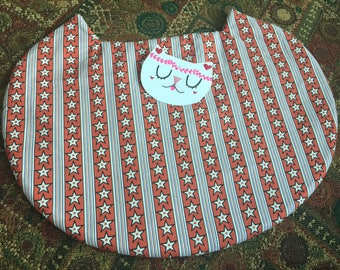 Red Striped Catnip Crazy Mat