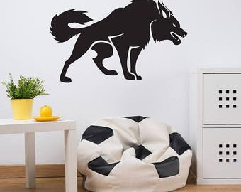 Dogs Wall Decals Etsy - Custom vinyl wall decals dogs