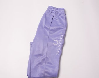 Vintage Fred Perry 90s Logo Print Tracksuit Pants