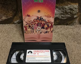 Vintage 1972 Charlotte's Web VHS RARE!!