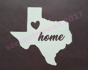 State Car Decal, Window Cling, Window Decal, Home Window Cling, Home State Decal, Home Car Decal, Home State Decal, Home State Window Cling