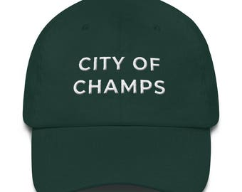 City of Champs Embroidered Dad Hat