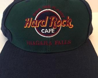 Vintage Hard Rock cafe snap back dad hat