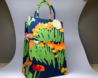 Vintage 1960s Margaret Smith of Gardner,Maine tote