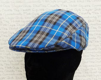 Flat Cap, blue, grey, black check flat cap, flat caps for men