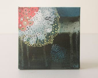 Twenty Nine: Small Abstract Painting