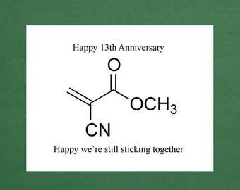 13th Anniversary Wedding Happy Thirteen Years