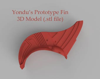 Yondu's Prototype Fin - 3D MODEL