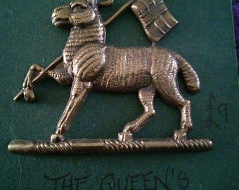 The Queen's cap badge