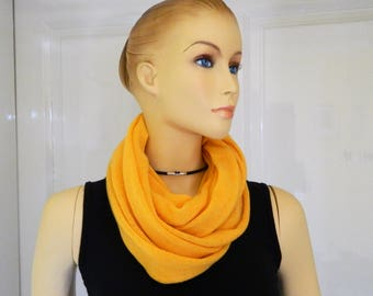 Cashmere Snood, Cashmere Scarf, Cashmere Loop Cashmere infinity scarf, pure Cashmere, roundscarf, present for her, present for him, handmade