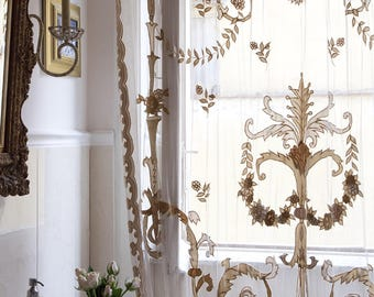 Luxury Classic Gold Curtain