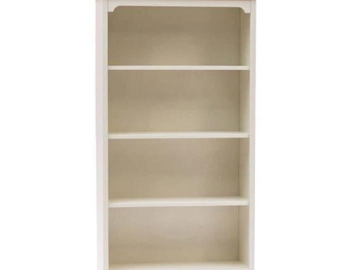 "White shabby bookcase ""Lilly"""