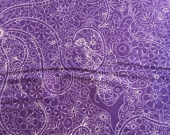 Sunprints 2018 by Alison Glass for Andover Fabrics in Purple