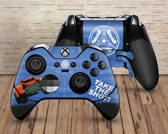 Rocket League - Xbox One Elite Controller Vinyl Skin Wrap Decal Sticker Racing Football Video Games Gaming Xbox Gamepad