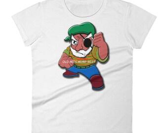 Old Men Grump Best Women's short sleeve t-shirt