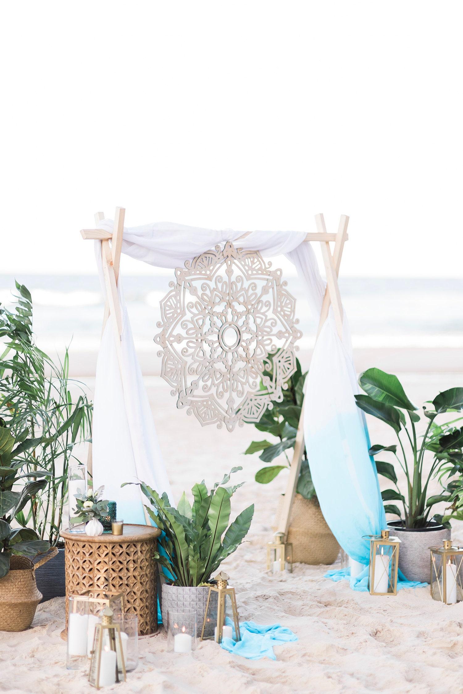Mandala Wedding signage/decoration