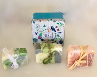 Gift soap, Quirky gift, Gifts ideas, Soap gifts, Gifts for the bath, Natural soap, Soap container, Birthday gift, Gift for her, Hostess gift