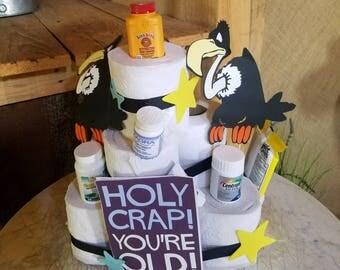 Buzzard Cake Topper