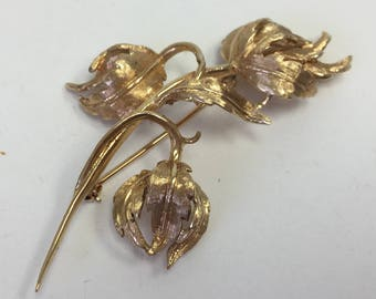 Vintage Gold Pin