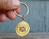Cadillac logo keychain, classic vintage Bay Area style, McNevin dealership in Berkeley California