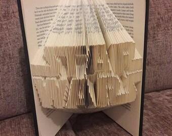 Star Wars folded book