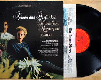 Simon and Garfunkel - Parsley Sage Rosemary & Thyme (1966) Vinyl LP  Paul  Art