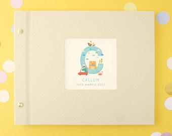 Personalised Baby Alphabet Photo Album